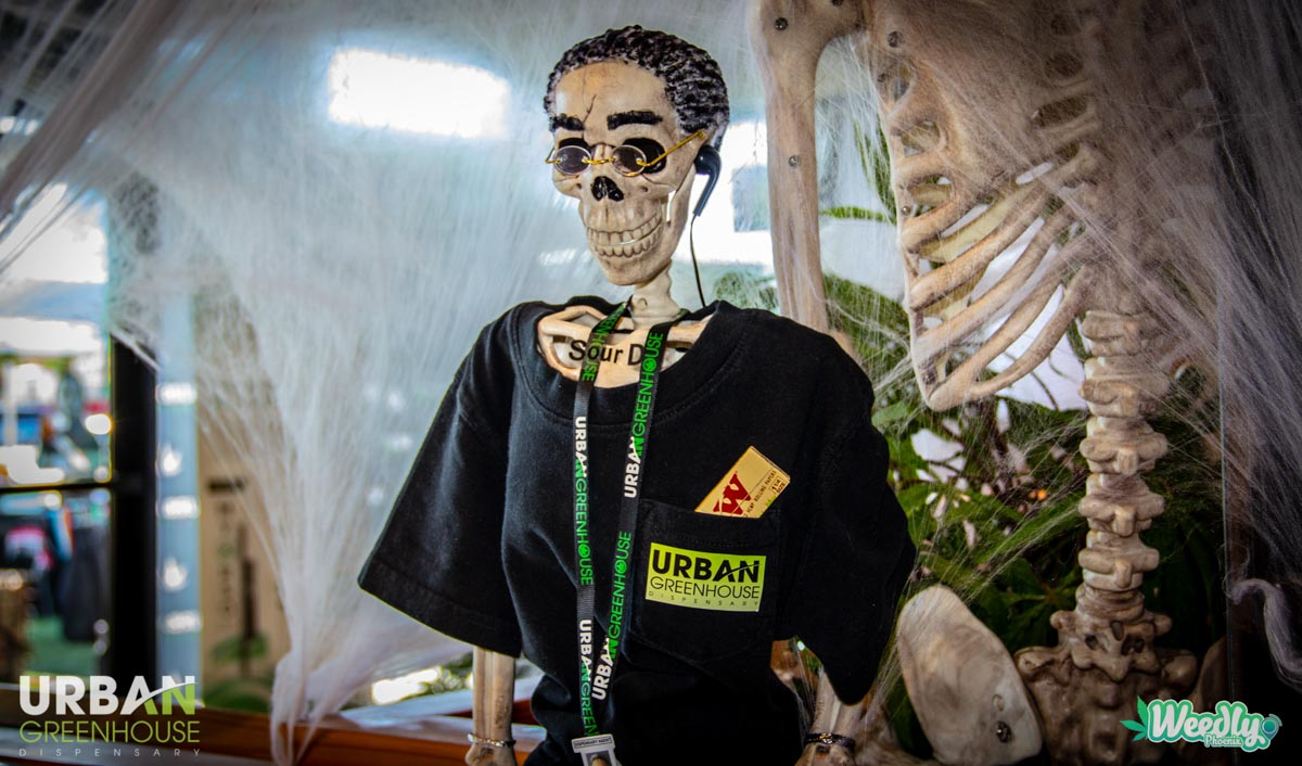 photos & videos from halloween '18 at urban greenhouse dispensary